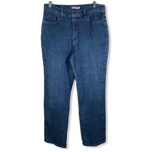 Lee Classic Fit At The Waist High Rise Mom Jeans